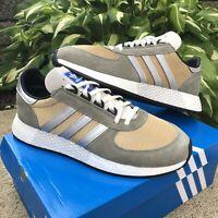 NEW Adidas Marathon Tech Running Shoes G27416 Gray/Gold Men's Size 12