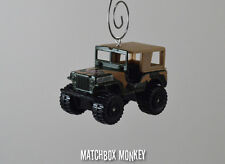 USA Military Eagle Jeep Willys 4x4 Custom Christmas Ornament 1/64 MASH Adorno