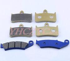 Front & Rear Brake Pads For HONDA NSR250 PGM4 MC28 VFR400 NC30 RVF400 NC35