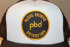 Pacific Brewers Distributors PBD Beer Hat Snapback Cap Adjustable BC Canada