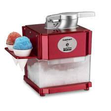Scm-10 Snow Cone Maker Shaved Ice Frozen Drinks Home Easy Flip Switch Makes Fast