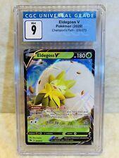 Pokemon Eldegross V 005/073 Champion's Path CGC Graded 9 Mint Like PSA Full Art