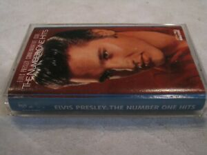 ELVIS PRESLEY THE NUMBER ONE HITS  CASSETTE