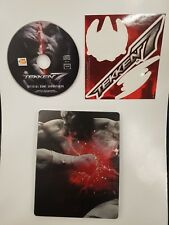 Tekken 7 Steelbook case + STICKER + cd soundtrack from Collector's Edition new