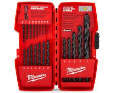 Milwaukee 21-Piece Thunderbolt Black Oxide Drill Bit Set
