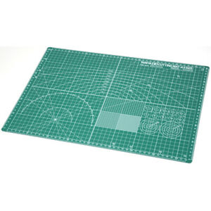 Tamiya Cutting Mat - A3 Size in Green - Suitable For Model Making - 74076