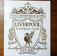 """Liverpool Stencil 8.5"""" x 11"""" Custom Stencil FAST FREE SHIPPING"""