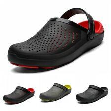Mens Clogs Mules Slipper Nursing Garden Beach Sandals Hospital Rubber Shoes 47 B