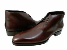 Mezlan Mens 15098 Chukka Lace-Up Business Casual Boots Fashion Dress Shoes