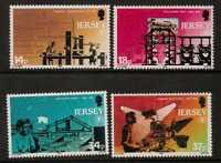 JERSEY SG526/9 1990 INT LITERACY YEAR MNH