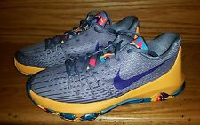 Nike KD VIII 8 GS Kevin Durant Basketball Shoes Youth US 6.5 Wolf Grey Blue NEW