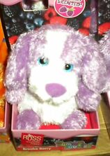 NEW RUSS YUMMY LUVVIES STUFFED ANIMAL DOG BROOKE BERRY SCENTED WILDBERRY