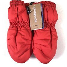 New Patagonia Baby Puff Mitts Insulated Fire Red 3-6 Months 60552 FA 19