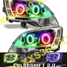 ORACLE Halo 2x HEADLIGHTS for GMC Acadia 08-12 COLORSHIFT 2.0 LED with remote