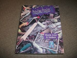 Bepuzzled Puzzling Jigsaw - Hook Line & Sinker - 750+5 Piece - EXCELLENT COND.