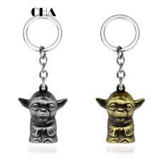 Star Wars inspired rubber keyring keychain BB-s Ren Yoda gift 248