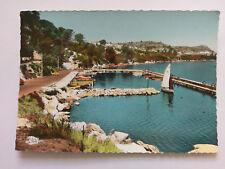 Istres France Vintage colour Postcard 1964 Le Port des Heures Claires