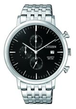 CITIZEN AN3610-55E Mens Watch WR50m black NEW in Box RRP $299.00