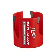 "Milwaukee 49-56-9210  BIG HAWG 2-1/8"" Hole Saw with Carbide Teeth"