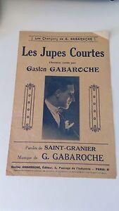 Les Jupes Courtes - Gaston Gabaroche - Gabaroche Editeur