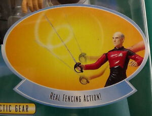 "Captain Picard Galactic Gear Dueling 6"" W F1 97 Playmate Star Trek Next Gen MOC"