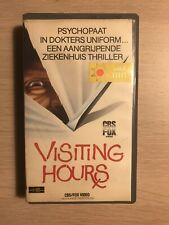Visiting Hours Vintage VHS Tape English Audio With dutch subs Horror