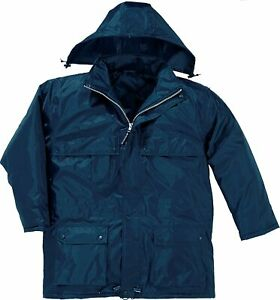 Delta plus Cold Clothing Parka Polyester PVC with Blue Pass Holder Size -S