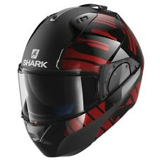 SHARK EVO ONE 2 HELMET - LITHION DUAL KUR - BLACK/RED SIZE LARGE