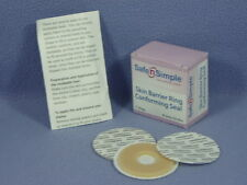 """Safe n Simple #SNS684U2 Conforming Seals 2"""" THIN Skin Barrier Rings - Bx/10 New!"""
