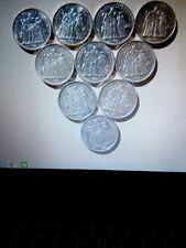 Lot 10 Pièces 10 Francs Hercule