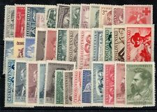Czechoslovakia: Complete Set Of 37 Stamps New N° 511/547 C