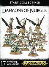 Start Collecting Daemons of Nurgle Chaos Warhammer 40k Age of Sigmar NEW