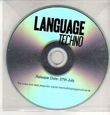 (CQ252) Language, Techno - DJ CD