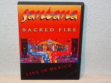 "*****DVD-SANTANA""SACRED FIRE-LIVE IN MEXICO""-1993 Island Records*****"