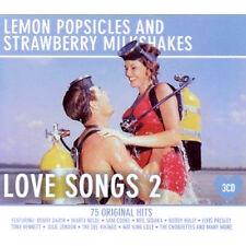 LEMON POPSICLES / STRAWBERRY MILKSHAKES NEW SEALED 3 CD 50's HITS / BEST OF