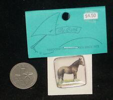 Dollhouse Miniature Square Horse Plate Plates Platter 1:12 #CDD512 Kitchen Farm