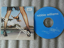 CD-ROBBIE WILLIAMS-NO REGRETS-ANTMUSIC-G.CHAMBERS-(CD SINGLE)-1998  3 TRACK