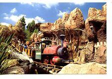 Big Thunder Mountain Runaway Mine Train Ride-Disneyland Amusement Park Postcard