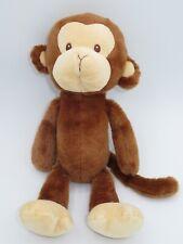 "Baby Gund Nicky Noodle Monkey 4048443 12"" Plush Tan Brown Stuffed Animal"