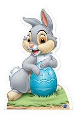 Thumper Conejito de Pascua Estilo Lifesize Silueta Cartón Pie Disney Bambi Huevo