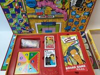 The Simpsons Vintage Board Game - Springfield USA - 2000