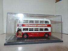 Corgi OOC OM45701 AEC Q Bus London Transport White Label Whisky MIMB