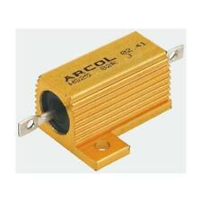 1 x Arcol HS10 Series Aluminium Axial Wire Wound Panel Mount Resistor, 3.3kΩ 10W