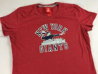 New York Giants T-Shirt Womens SZ M/L Slim Fit Vintage Look NFL Football Nike