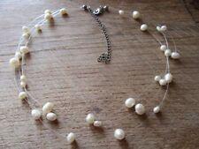 "Choker Cultured 13 - 15.99"" Fine Pearl Necklaces & Pendants"