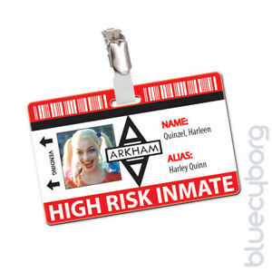 Arkham Asylum Inmate Novelty ID - Harleen Quinzel / Harley Quinn