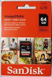 SanDisk 64GB SDXC UHS-I Card