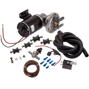 """Electric Vacuum Pump Kit for Brake Booster 12 Volt 18"""" - 22"""" Brand New"""