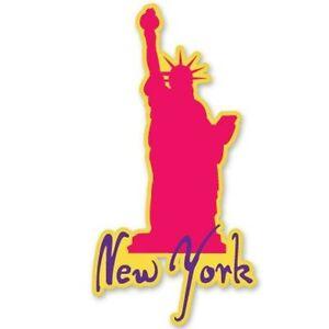 New York Car Vinyl Sticker - SELECT SIZE