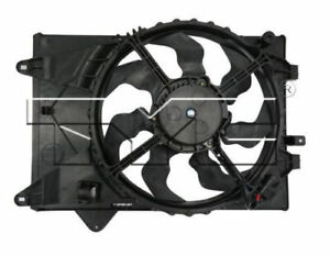 For 2014-2015 Chevrolet Sonic 1.8L Dual Radiator and Condenser Fan
